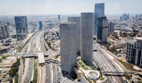בניין בניין עזריאלי  - מגדל משולש בתל אביב יפו | רמת הבניין classA | תמונה #8 - 1