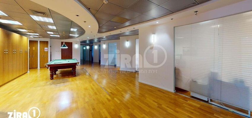 משרד בבניין מגדלי אקרשטיין -בניין A | קומה 11 | שטח 1300מ״ר  | תמונה #0 - 1