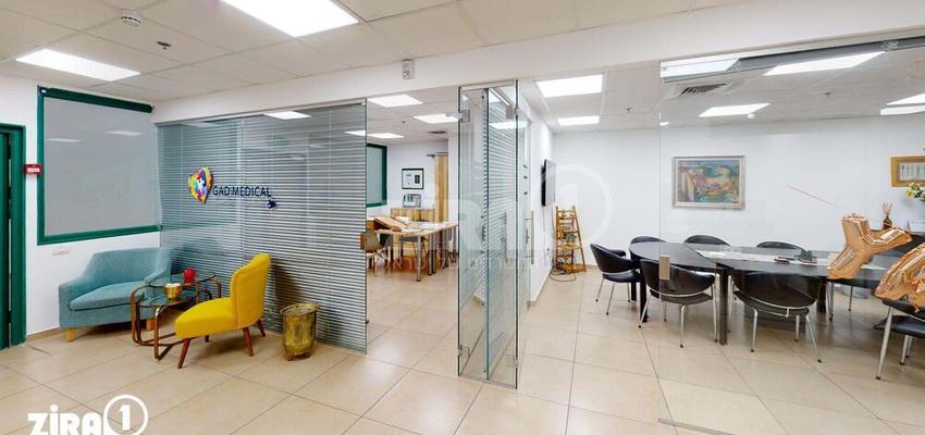 משרד בבניין בית בלרס | קומה 0 | שטח 140מ״ר  | תמונה #0 - 1