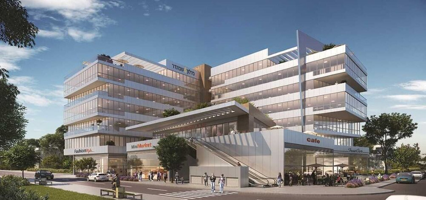 פרויקטים בהקמה בית פדלון שפונדר בנתניה | רמת הבניין classA | תמונה #0 - 1
