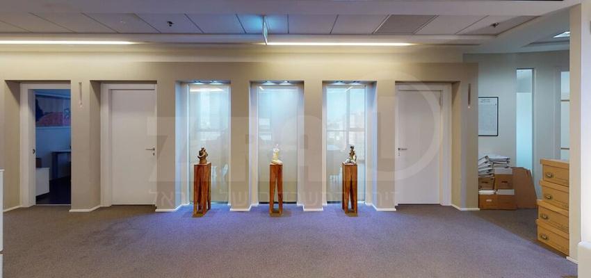 משרד בבניין מגדל ששון חוגי   קומה 10   שטח 455מ״ר    תמונה #0 - 1