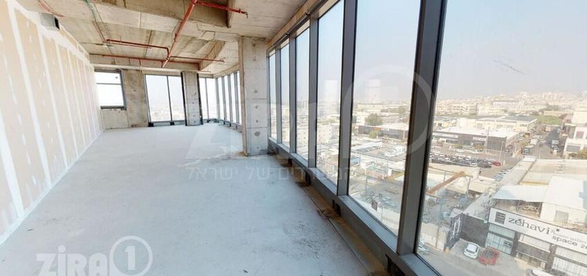 משרד בבניין בית ירון מילר   קומה 6   שטח 160מ״ר    תמונה #0 - 1