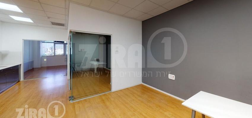 משרד בבניין מרכז תיא Taya Center   קומה 1   שטח 103מ״ר    תמונה #0 - 1