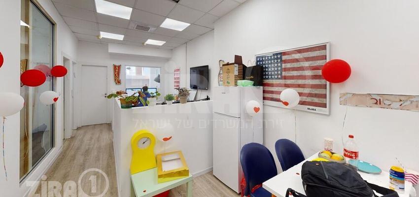 משרד בבניין מבני תל-עד  | קומה 1 | שטח 72מ״ר  | תמונה #0 - 1