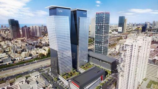בניין מגדלי אלון- אלון 2 בתל אביב יפו   רמת הבניין classA   תמונה #15 - 1