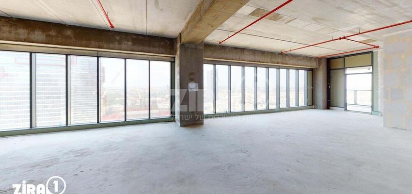 משרד בבניין מגדל הכשרת הישוב  | קומה 19 | שטח 238מ״ר  | תמונה #0 - 1