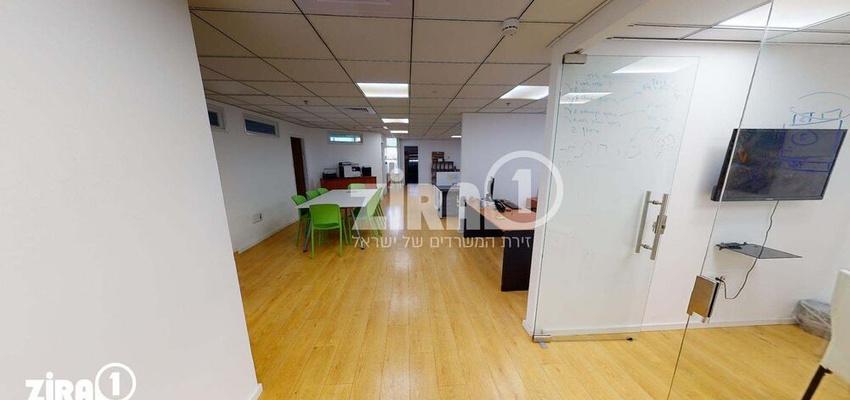 משרד בבניין בית אוליאל | קומה 2 | שטח 204מ״ר  | תמונה #0 - 1