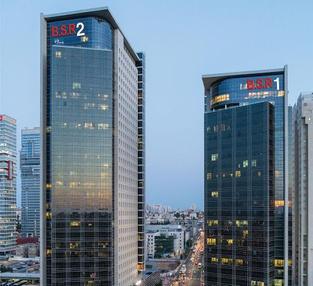 בניין מגדל ב.ס.ר. 1 ברמת גן   רמת הבניין classA   תמונה #0 - 1