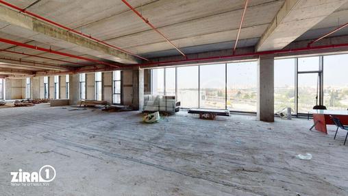 משרד בבניין אושירה | קומה 4 | שטח 1200מ״ר  | תמונה #8 - 1