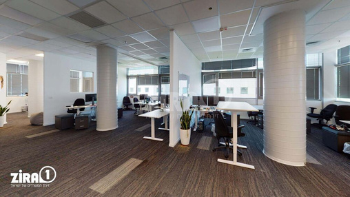 משרד בבניין מרכז גב ים הרצליה- בניין גב ים 1 | קומה 4 | שטח 2117מ״ר  | תמונה #6 - 1