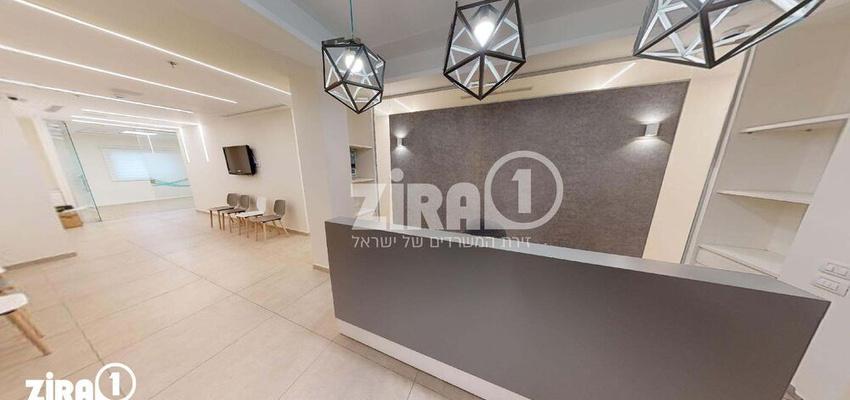 משרד בבניין מרכז לב אחוזה | קומה 1 | שטח 200מ״ר  | תמונה #0 - 1