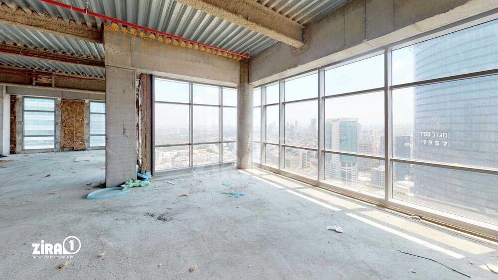 משרד בבניין בית גיבור ספורט  | קומה 32 | שטח 300מ״ר  | תמונה #0 - 1