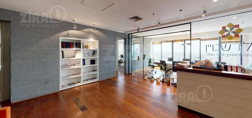 משרד בבניין מגדל לוינשטיין  | קומה 20 | שטח 250מ״ר  | תמונה #0 - 1