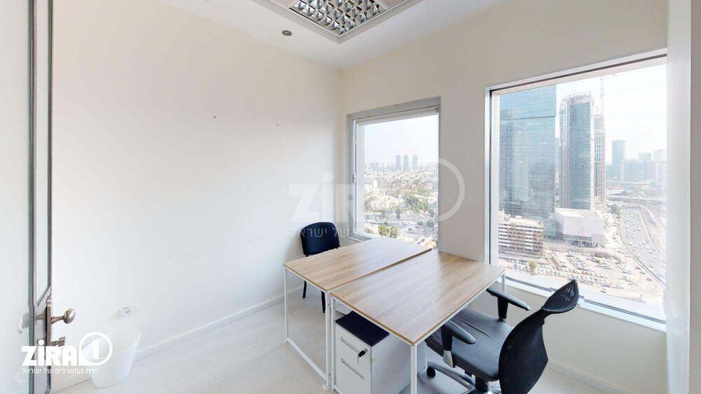 משרד בבניין בניין עזריאלי  - מגדל עגול | קומה 24 | שטח 140מ״ר  | תמונה #0 - 1