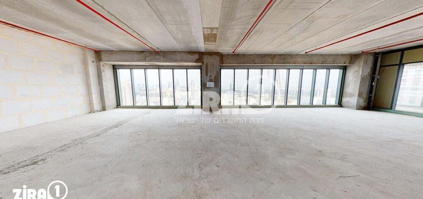 משרד בבניין מגדל הכשרת הישוב  | קומה 26 | שטח 500מ״ר  | תמונה #0 - 1