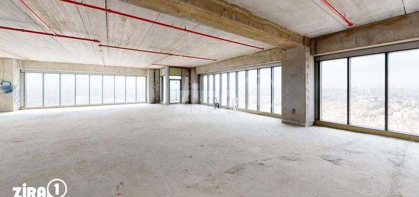 משרד בבניין מגדל הכשרת הישוב  | קומה 28 | שטח 400מ״ר  | תמונה #0 - 1