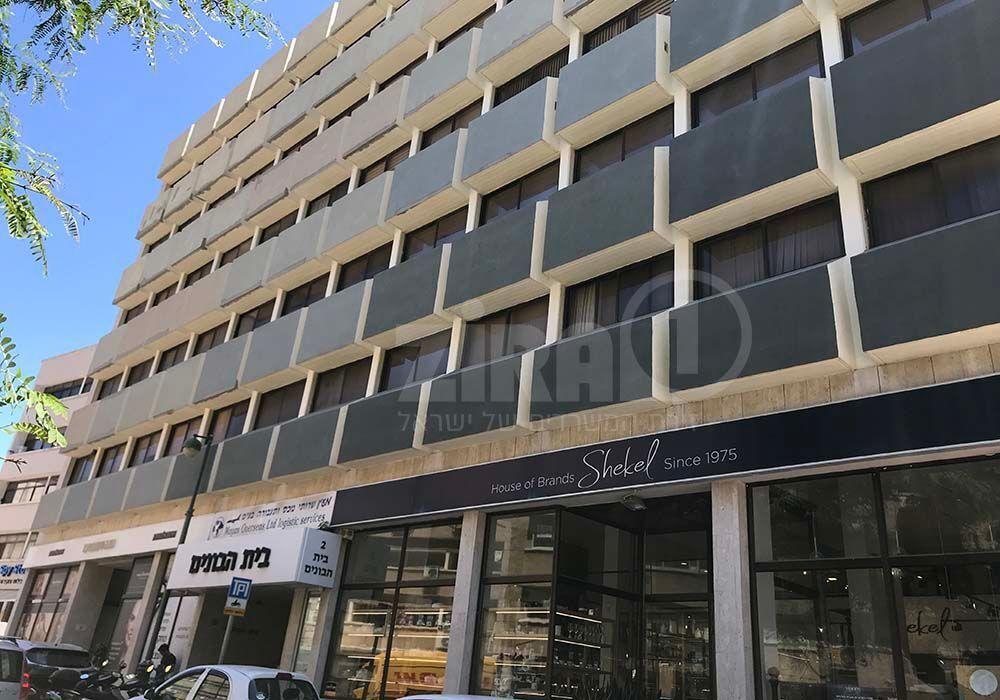 בניין בית הבונים  ברמת גן | רמת הבניין classB | תמונה #0 - 1