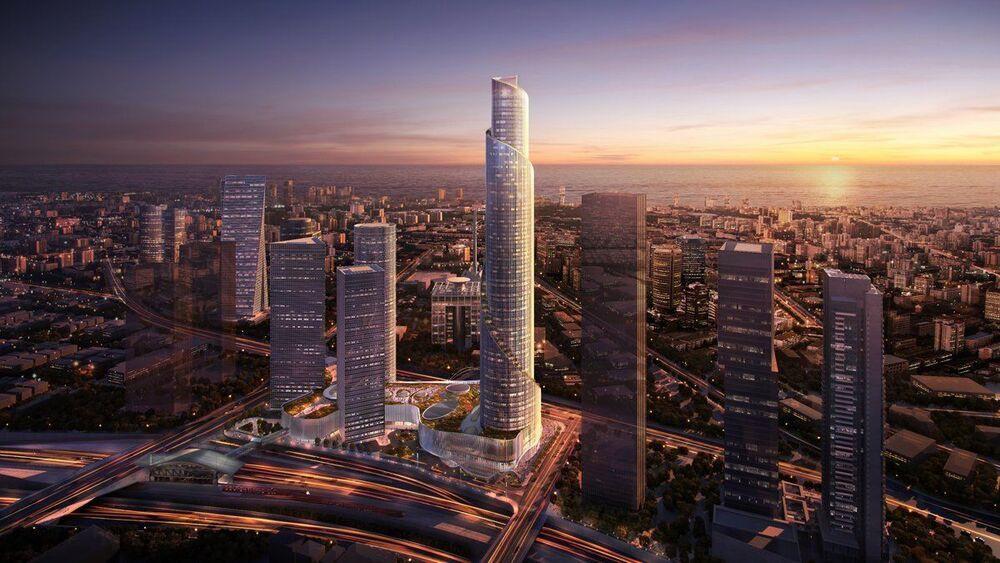 פרויקטים בהקמה מגדל הספירלה בתל אביב יפו | רמת הבניין classA | תמונה #0 - 1