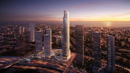 פרויקטים בהקמה מגדל הספירלה בתל אביב יפו | רמת הבניין classA | תמונה #2 - 1