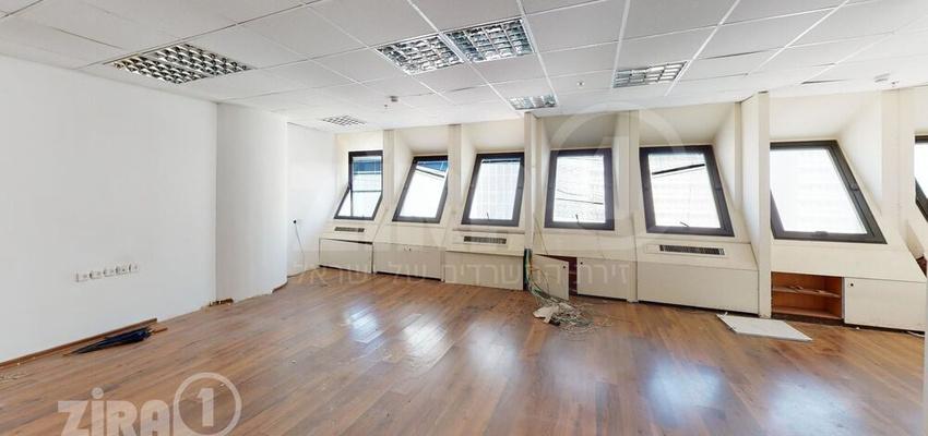 משרד בבניין מרכז הטקסטיל והאופנה   קומה 10   שטח 132מ״ר    תמונה #0 - 1