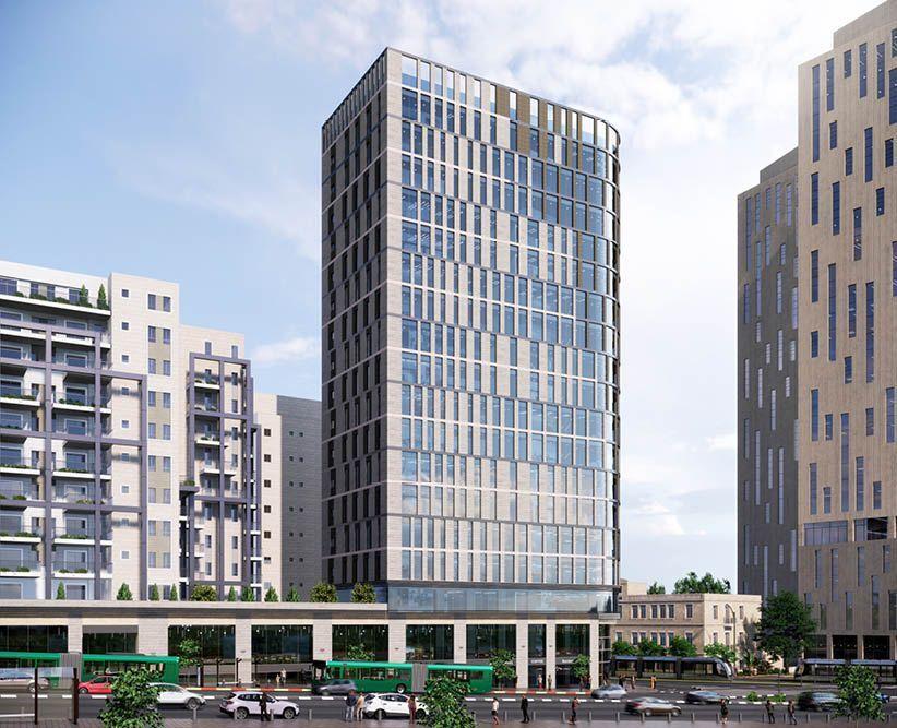 פרויקטים בהקמה CITY CURT -  סיטי קורט ירושלים בירושלים | רמת הבניין classA | תמונה #0 - 1