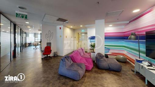 משרד בבניין מגדלי פז- 2 | קומה 11 | שטח 1028מ״ר  | תמונה #9 - 1