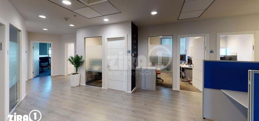 משרד בבניין מגדלי פז- 2   קומה 12   שטח 1028מ״ר    תמונה #0 - 1