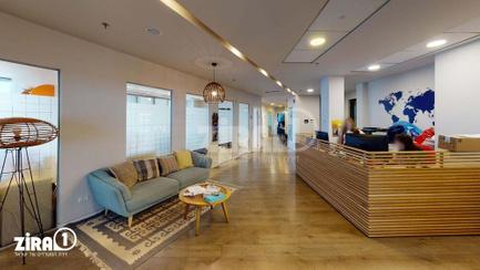 משרד בבניין מגדלי פז- 2 | קומה 13 | שטח 1028מ״ר  | תמונה #2 - 1