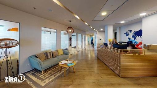 משרד בבניין מגדלי פז- 2 | קומה 13 | שטח 1028מ״ר  | תמונה #8 - 1