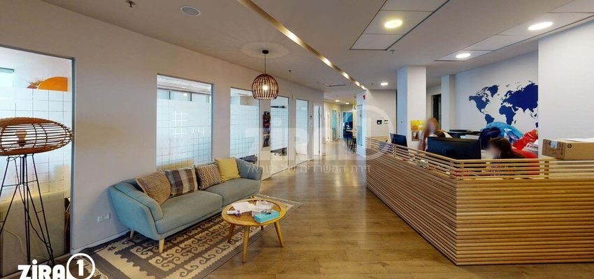 משרד בבניין מגדלי פז- 2   קומה 13   שטח 1028מ״ר    תמונה #0 - 1