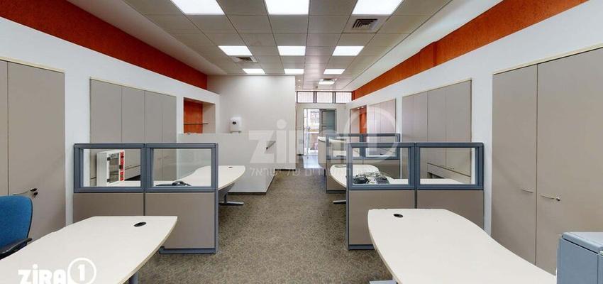 משרד בבניין יד חרוצים 4 | קומה 1 | שטח 132מ״ר  | תמונה #0 - 1