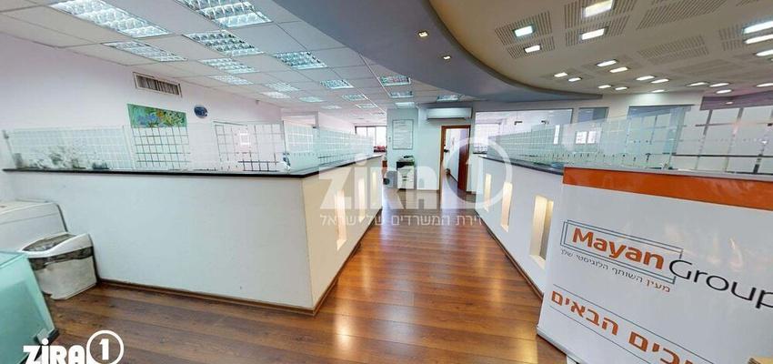 משרד בבניין בית הבונים  | קומה 5 | שטח 800מ״ר  | תמונה #0 - 1