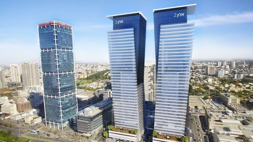 בניין מגדלי אלון- אלון 2 בתל אביב יפו | רמת הבניין classA | תמונה #0 - 1