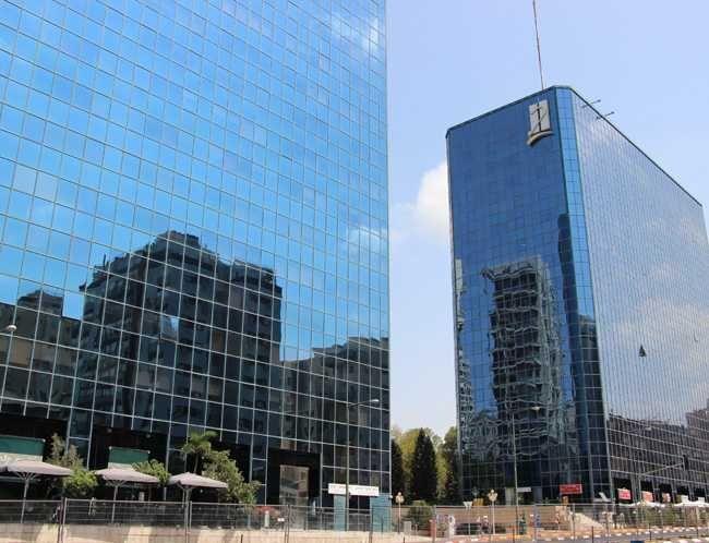 בניין מגדלי התאומים- בניין 1 ברמת גן   רמת הבניין classB   תמונה #0 - 1