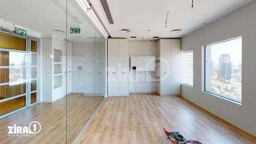 משרד בבניין בניין עזריאלי  - מגדל משולש | קומה 37 | שטח 312מ״ר  | תמונה #4 - 1
