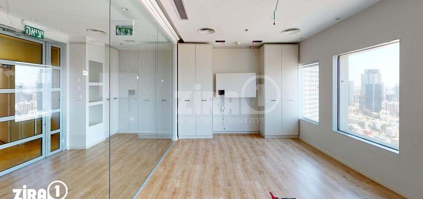 משרד בבניין בניין עזריאלי  - מגדל משולש | קומה 37 | שטח 312מ״ר  | תמונה #0 - 1