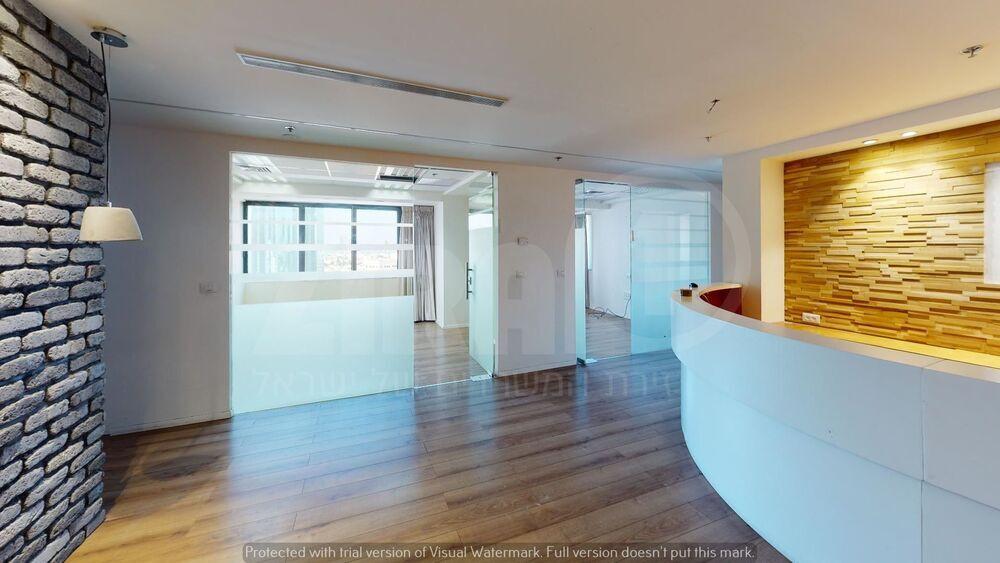 משרד בבניין מגדל נצבא    קומה 15   שטח 257מ״ר    תמונה #0 - 1
