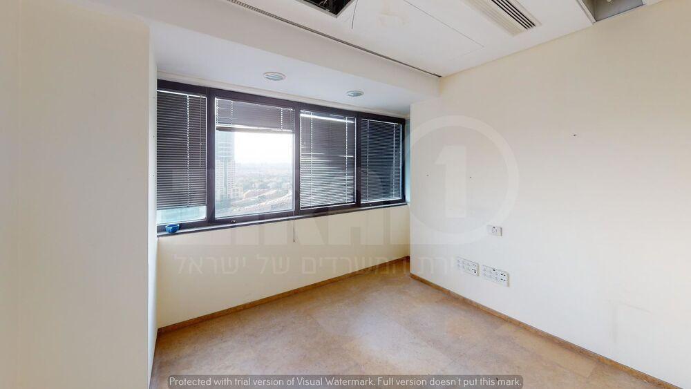 משרד בבניין מגדל נצבא    קומה 18   שטח 460מ״ר    תמונה #0 - 1