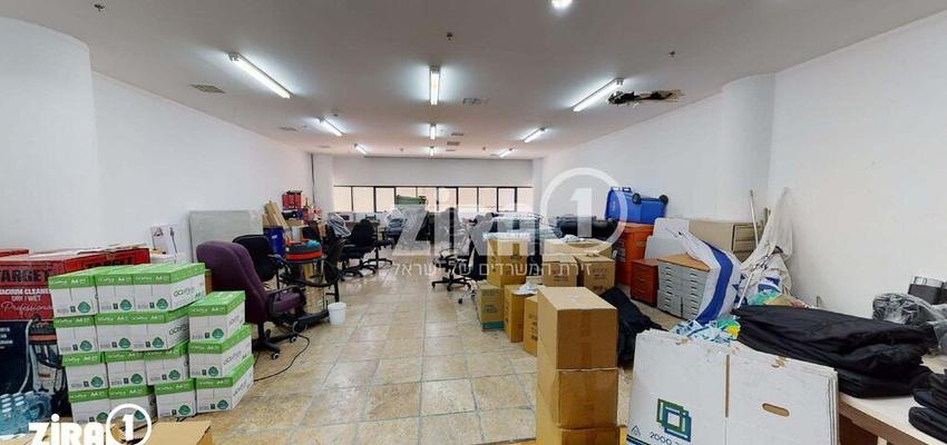 משרד בבניין בית הרמלין | קומה 0 | שטח 140מ״ר  | תמונה #0 - 1