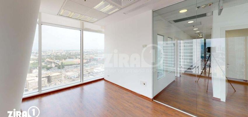 משרד בבניין בסר 3 | קומה 18 | שטח 280מ״ר  | תמונה #0 - 1
