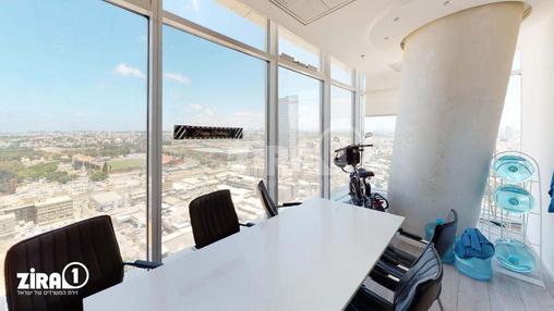 משרד בבניין בסר 3 | קומה 19 | שטח 100מ״ר  | תמונה #4 - 1