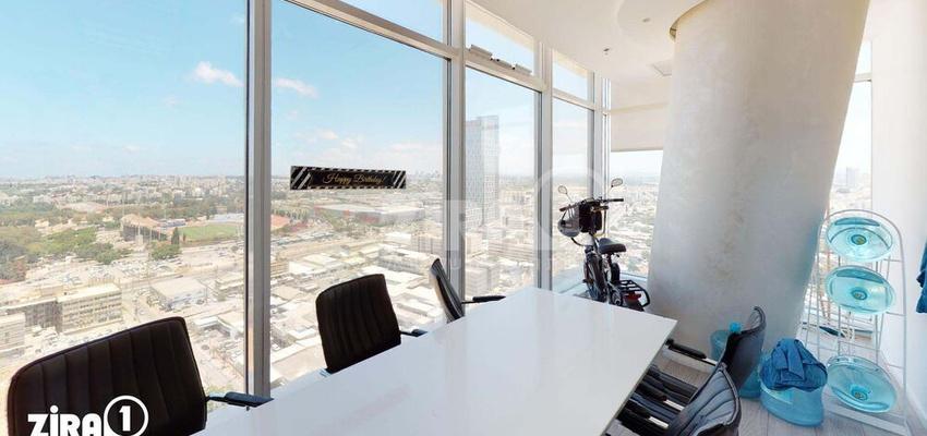משרד בבניין בסר 3 | קומה 19 | שטח 100מ״ר  | תמונה #0 - 1