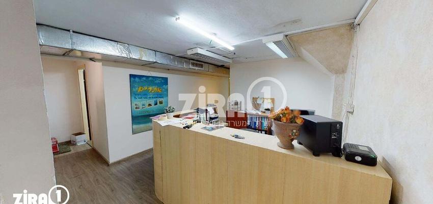 משרד בבניין מרכז שטנר | קומה 1 | שטח 140מ״ר  | תמונה #0 - 1