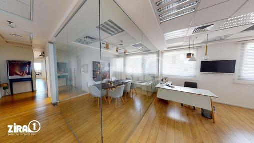 משרד בבניין REIT 1 - רוטשילד 3 - מגדל פסגות   קומה 22   שטח 245מ״ר    תמונה #8 - 1