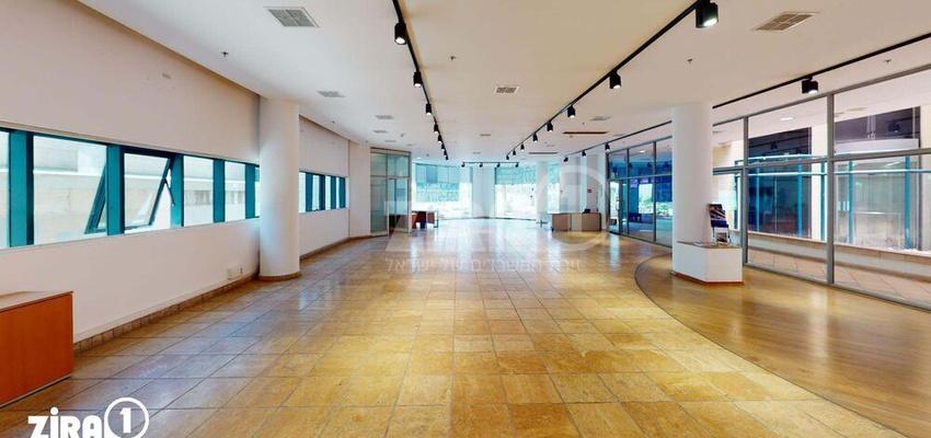 משרד בבניין בית הרמלין | קומה 0 | שטח 260מ״ר  | תמונה #0 - 1