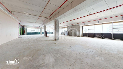 משרד בבניין התנופה 5 | קומה 4 | שטח 1300מ״ר  | תמונה #1 - 1