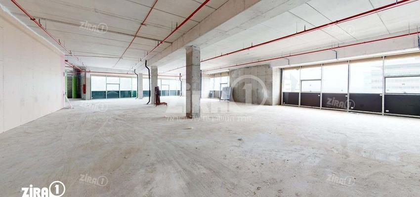 משרד בבניין התנופה 5   קומה 4   שטח 1300מ״ר    תמונה #0 - 1