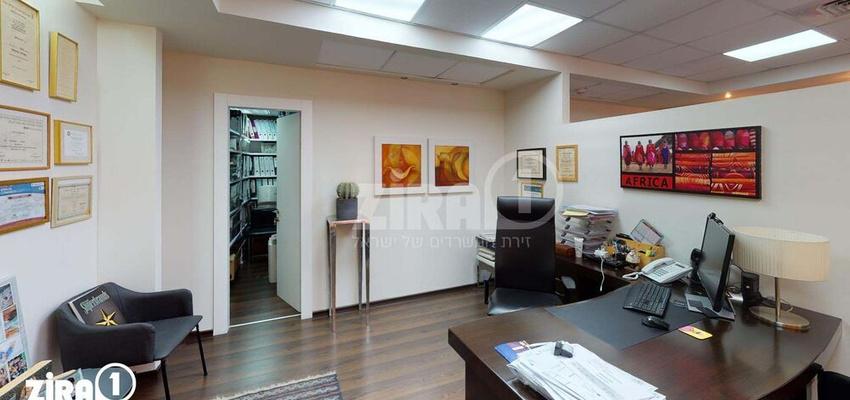 משרד בבניין בית אמנת | קומה 3 | שטח 180מ״ר  | תמונה #0 - 1