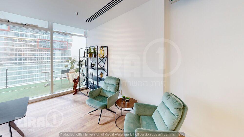 משרד בבניין בסר 3 | קומה 21 | שטח 144מ״ר  | תמונה #0 - 1