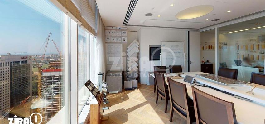 משרד בבניין בסר 3   קומה 32   שטח 319מ״ר    תמונה #0 - 1